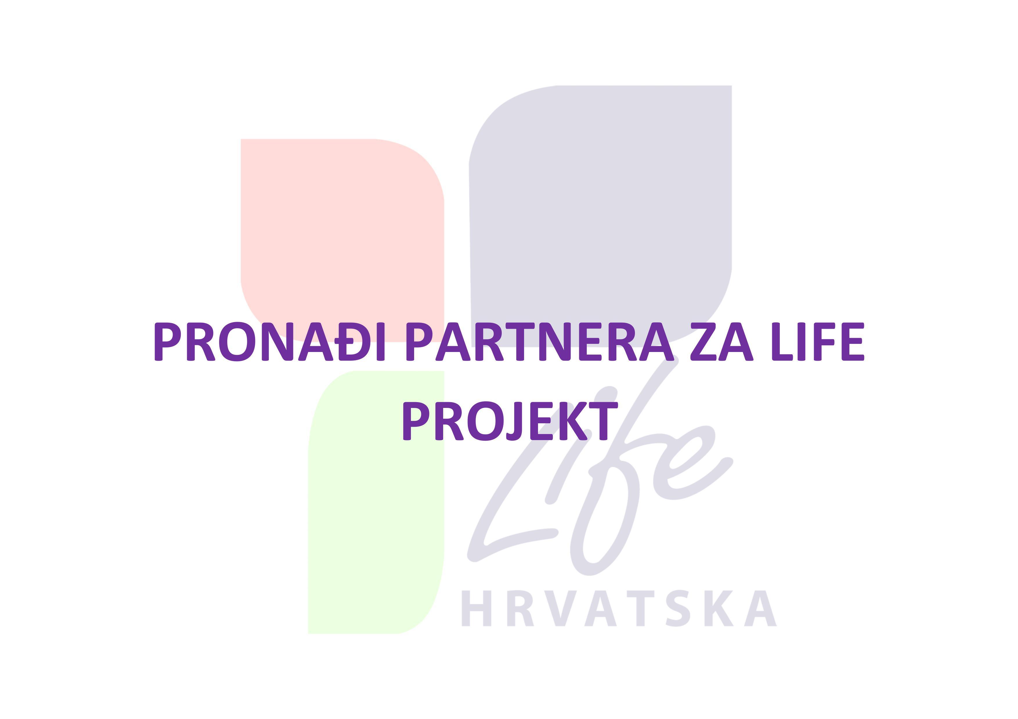 Pronađite partnera za LIFE projekt