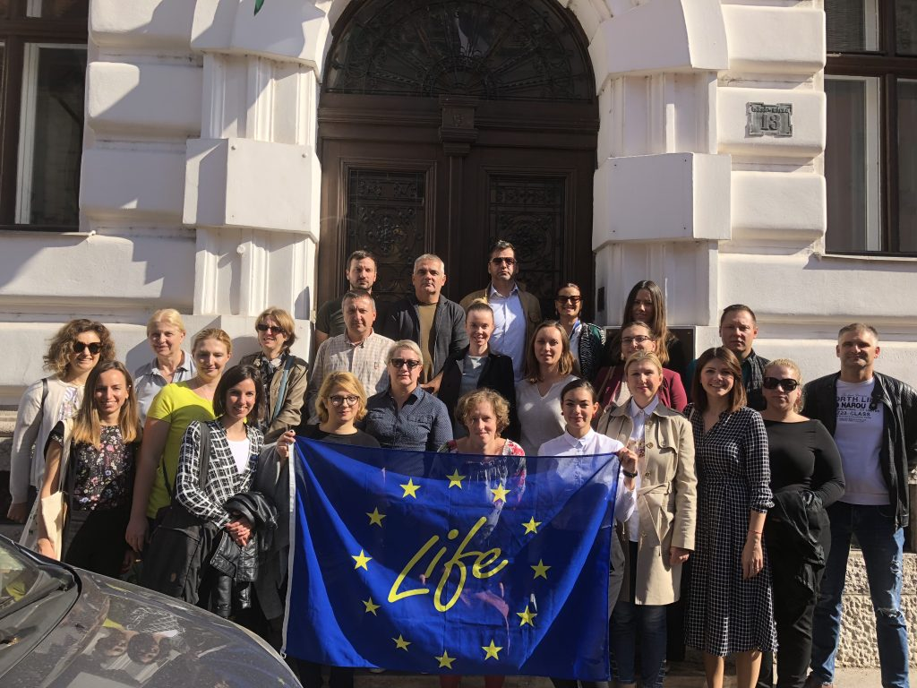 Croatian representatives visited best practice LIFE projects in Hungary