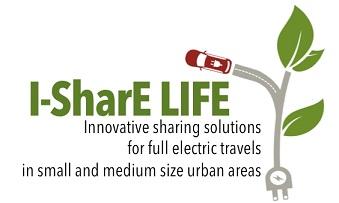 I-SharE LIFE – Inovativna rješenja za dijeljenje električnih putovanja u malim i srednjim urbanim područjima LIFE17 ENV/IT/000212